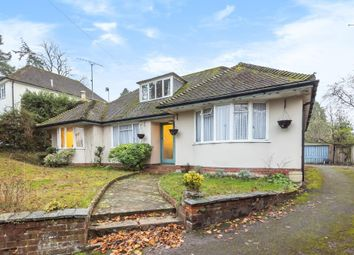 Thumbnail 4 bed detached bungalow for sale in Newtown Road, Newbury