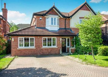 Thumbnail 4 bed detached house for sale in Glenville Close, Cheadle Hulme, Cheshire