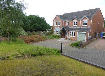 Thumbnail 5 bed detached house for sale in Adelaide Drive, Cannock