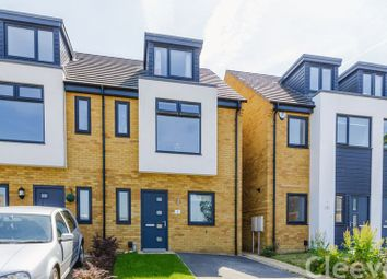 Thumbnail 4 bed semi-detached house for sale in Newdawn Place, Cheltenham