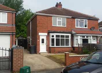 Thumbnail 3 bed semi-detached house to rent in Crompton Avenue, Doncaster