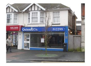 Thumbnail Retail premises to let in Ashley Road 241A, Parkstone, Dorset