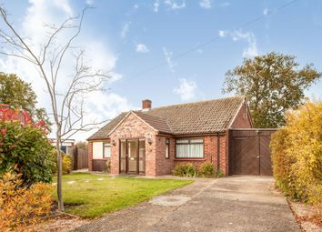 Thumbnail 3 bed detached bungalow for sale in Church Close, Whittlesford, Cambridge