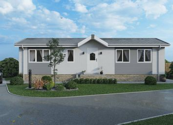 Thumbnail 2 bed mobile/park home for sale in Lake Terrace, Melton Mowbray