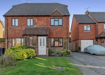 Thumbnail 2 bed semi-detached house for sale in Riverside Close, Kingsnorth, Ashford