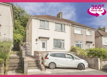 Thumbnail 3 bed semi-detached house for sale in Graig Park Hill, Newport