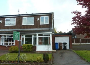 Thumbnail 3 bed semi-detached house to rent in Weybourne Drive, Bredbury, Stockport