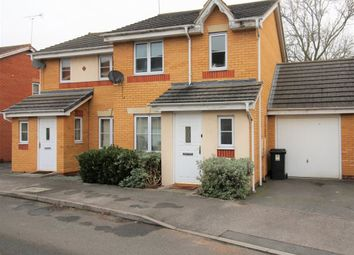 Thumbnail 3 bed semi-detached house to rent in Viaduct Close, Rugby