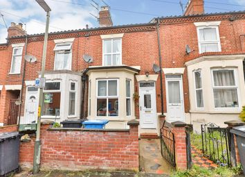 Thumbnail 2 bed terraced house for sale in Beaconsfield Road, Norwich