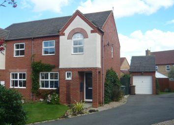 Thumbnail 3 bed semi-detached house for sale in Hospital Cottages, London Road, Bracebridge Heath, Lincoln