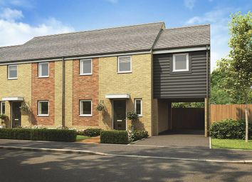 "Thumbnail 3 bedroom semi-detached house for sale in ""Chester Link "" at Plover Road, Stanway, Colchester"