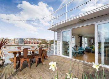 Thumbnail 2 bed houseboat for sale in Nine Elms Pier Tideway Walk, Kirtling Street, London