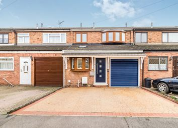 Thumbnail 3 bed terraced house for sale in Elmer Close, Rainham