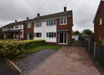Thumbnail 3 bed semi-detached house for sale in Ashleigh Drive, Tamworth, West Midlands