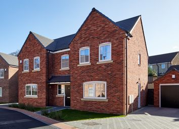 Thumbnail 4 bedroom detached house for sale in Meadow Court, Blyth
