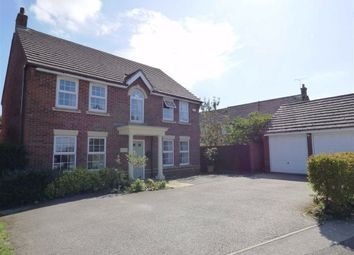 Thumbnail 4 bed detached house for sale in Fallowfields, Crick, Northampton