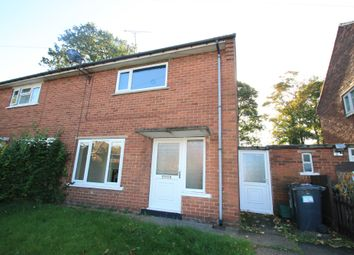 Thumbnail 2 bed semi-detached house to rent in Almond Road, Bessacarr, Doncaster