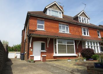 Thumbnail 3 bedroom flat for sale in Cowper Road, Worthing