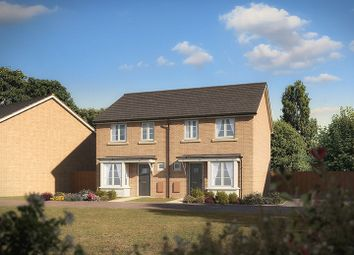 "Thumbnail 2 bed semi-detached house for sale in ""The Comanche"" at Clarks Close, Yeovil"