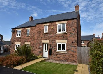 Thumbnail 3 bed semi-detached house for sale in Davos Drive, Biddulph, Staffordshire