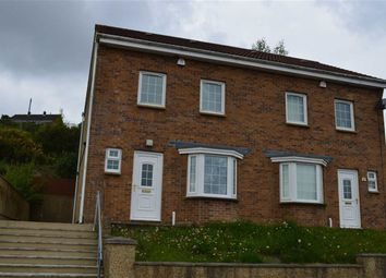 Thumbnail 3 bed property for sale in Hollett Road, Swansea