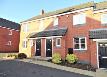 Thumbnail 3 bed terraced house for sale in Long Swath Way, Birstall, Leicester