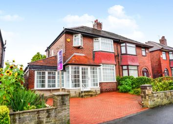 Thumbnail 4 bed semi-detached house for sale in Crescent Road, Oldham