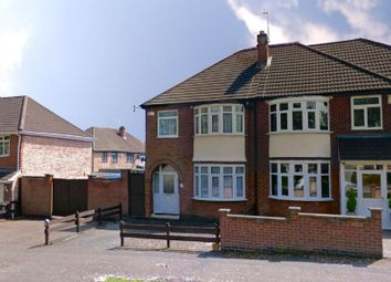 Thumbnail 3 bedroom semi-detached house for sale in Stoughton Road, Stoneygate, Leicester