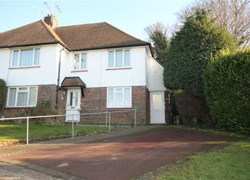 Thumbnail 3 bed maisonette for sale in Shawley Crescent, Epsom