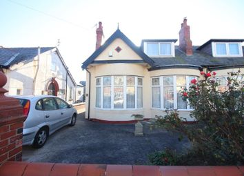Thumbnail 3 bed semi-detached bungalow for sale in Carlin Gate, Bispham, Blackpool, Lancashire