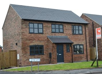 Thumbnail 4 bedroom detached house for sale in Park Road, Newhall, Swadlincote