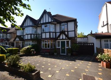 Thumbnail 3 bed semi-detached house for sale in Highwood Grove, Mill Hill, London