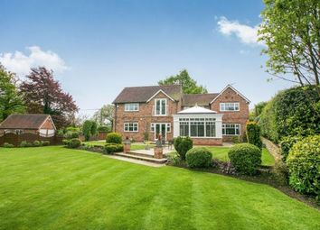 Thumbnail 4 bed detached house for sale in School Lane, Over Alderley, Alderley Edge, Cheshire