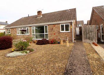 Thumbnail 2 bed semi-detached house for sale in Honddu Close, Caldicot