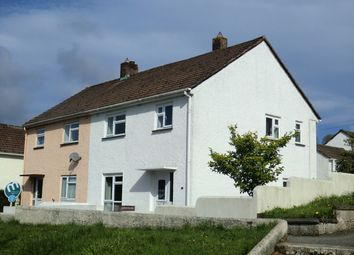 Thumbnail 3 bed semi-detached house to rent in Broad Park, Launceston, Cornwall