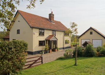 Thumbnail 4 bed detached house for sale in Bull Lane, Stowlangtoft, Bury St. Edmunds