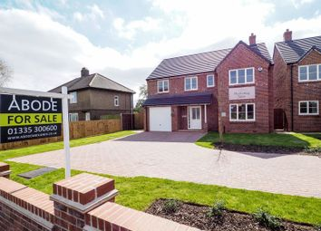 Thumbnail 4 bed detached house for sale in Belper Road, Stanley Common, Ilkeston