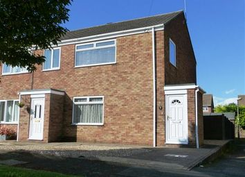 Thumbnail 3 bed semi-detached house for sale in Ancaster Court, Scunthorpe