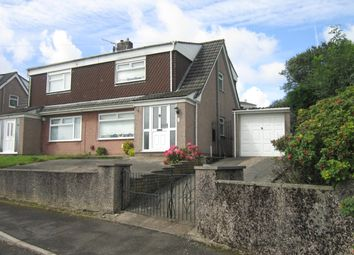 Thumbnail 3 bed semi-detached house for sale in Marwyn Gardens, Bargoed