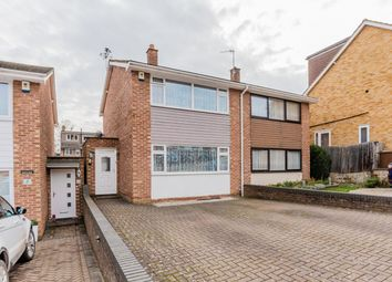 Thumbnail 2 bed semi-detached house for sale in Poplicans Road, Rochester, Kent