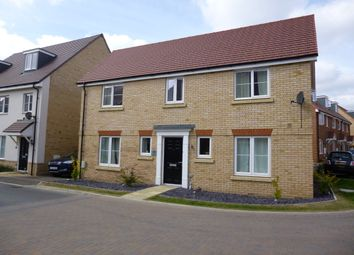 Thumbnail 4 bedroom detached house to rent in Alderney Avenue, Newton Leys