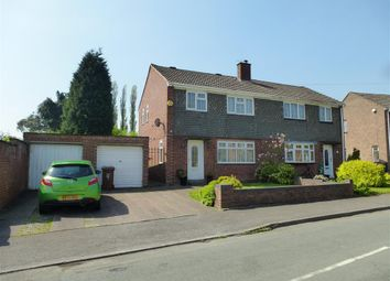 Thumbnail 3 bed semi-detached house to rent in Red Lion Crescent, Norton Canes, Cannock