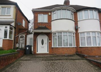 Thumbnail 3 bed semi-detached house for sale in Sandringham Road, Perry Barr, Birmingham