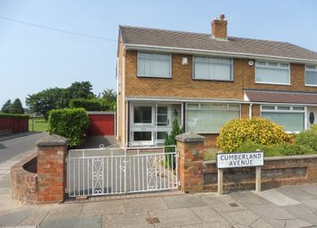 Thumbnail 3 bed semi-detached house for sale in Cumberland Avenue, Prenton