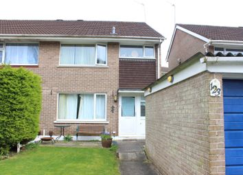 Thumbnail 3 bedroom semi-detached house for sale in Holmwood Avenue, Plymstock, Plymouth