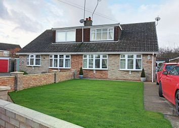Thumbnail 2 bedroom semi-detached bungalow for sale in Oxenhope Road, Hull