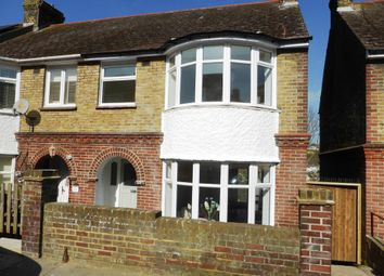 Thumbnail 3 bed end terrace house for sale in Longfield Road, Dover, Kent