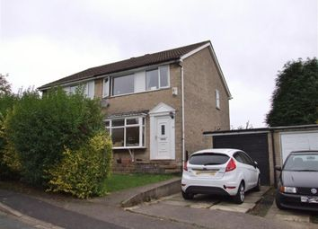 Thumbnail 2 bed semi-detached house for sale in Ashfield Drive, Ovenden, Halifax