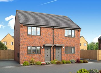 """Thumbnail 2 bedroom semi-detached house for sale in """"Halstead"""" at Kilcoy Drive, Kingswood, Hull"""