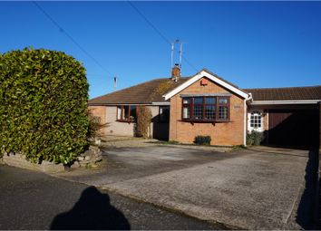 Thumbnail 2 bed semi-detached bungalow for sale in Farmway, Leicester